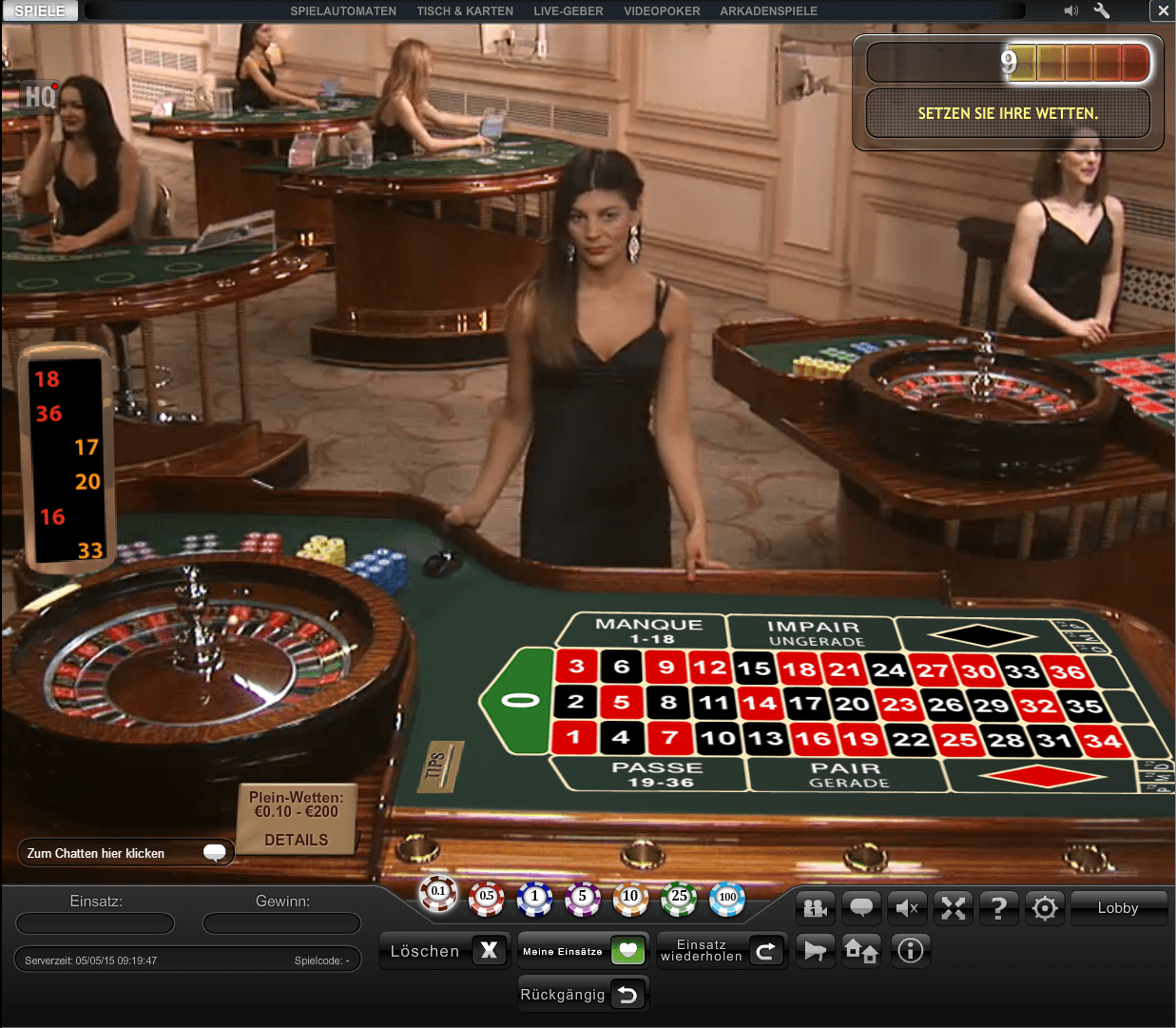 Casinos In Deutschland Roulette