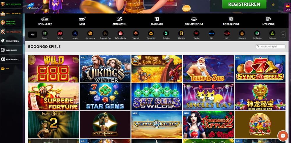 Booongo Casinos Software Bonus and Review