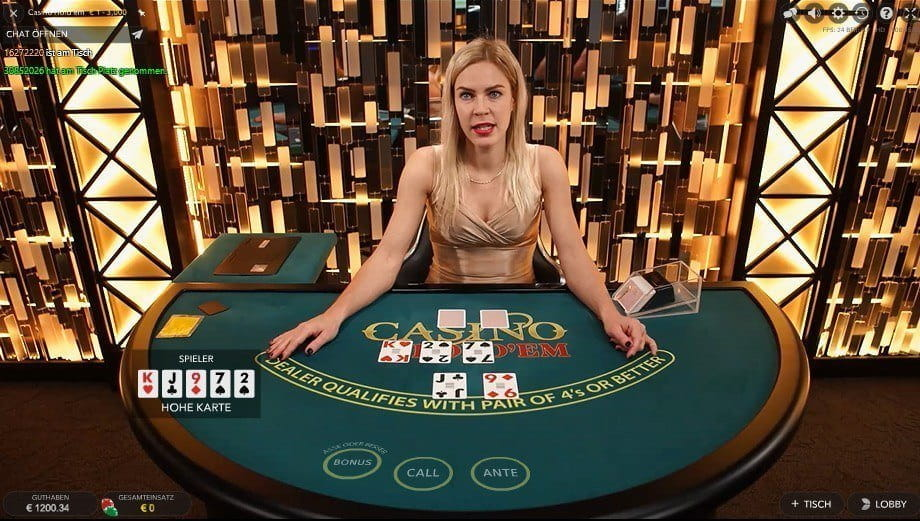 Casino Poker Gegen Dealer