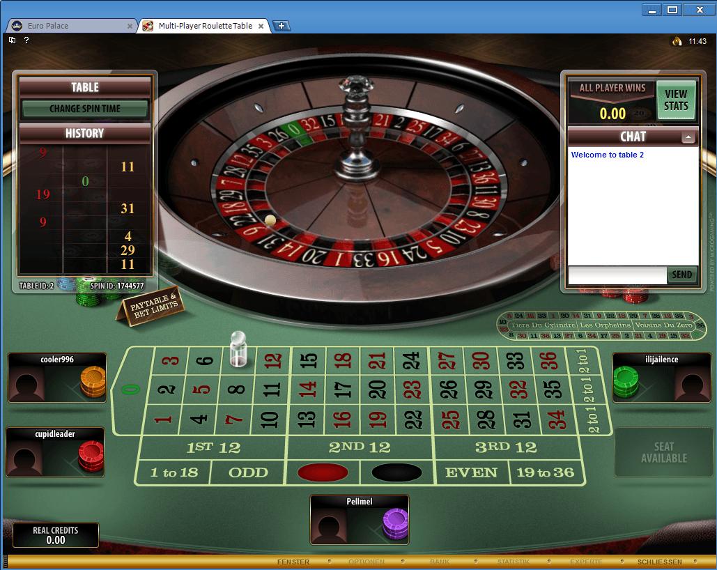 Europalace Online Casino Bewertung