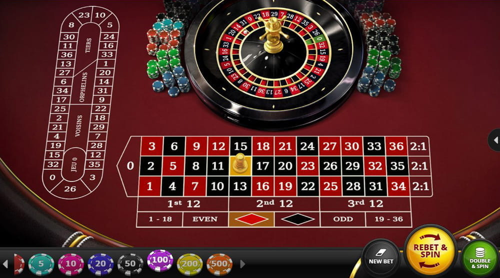 Spiele European Roulette (Red Tiger) - Video Slots Online