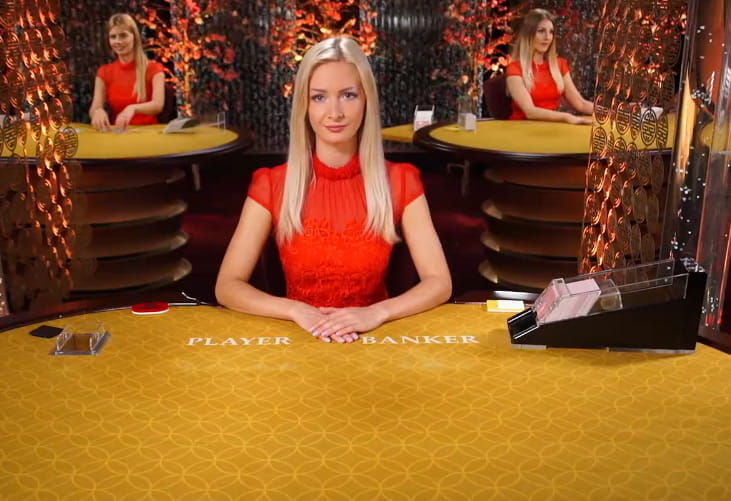 Live Baccarat bei Casino Cruise