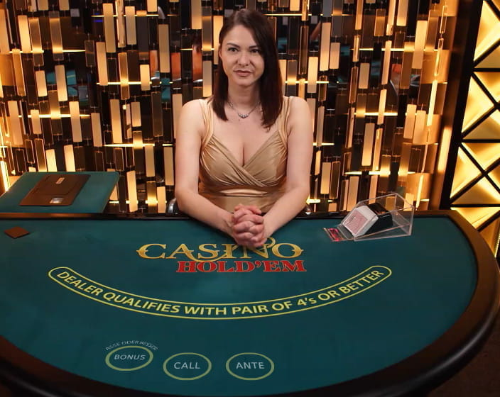 Live Casino Hold'em bei Casino Cruise