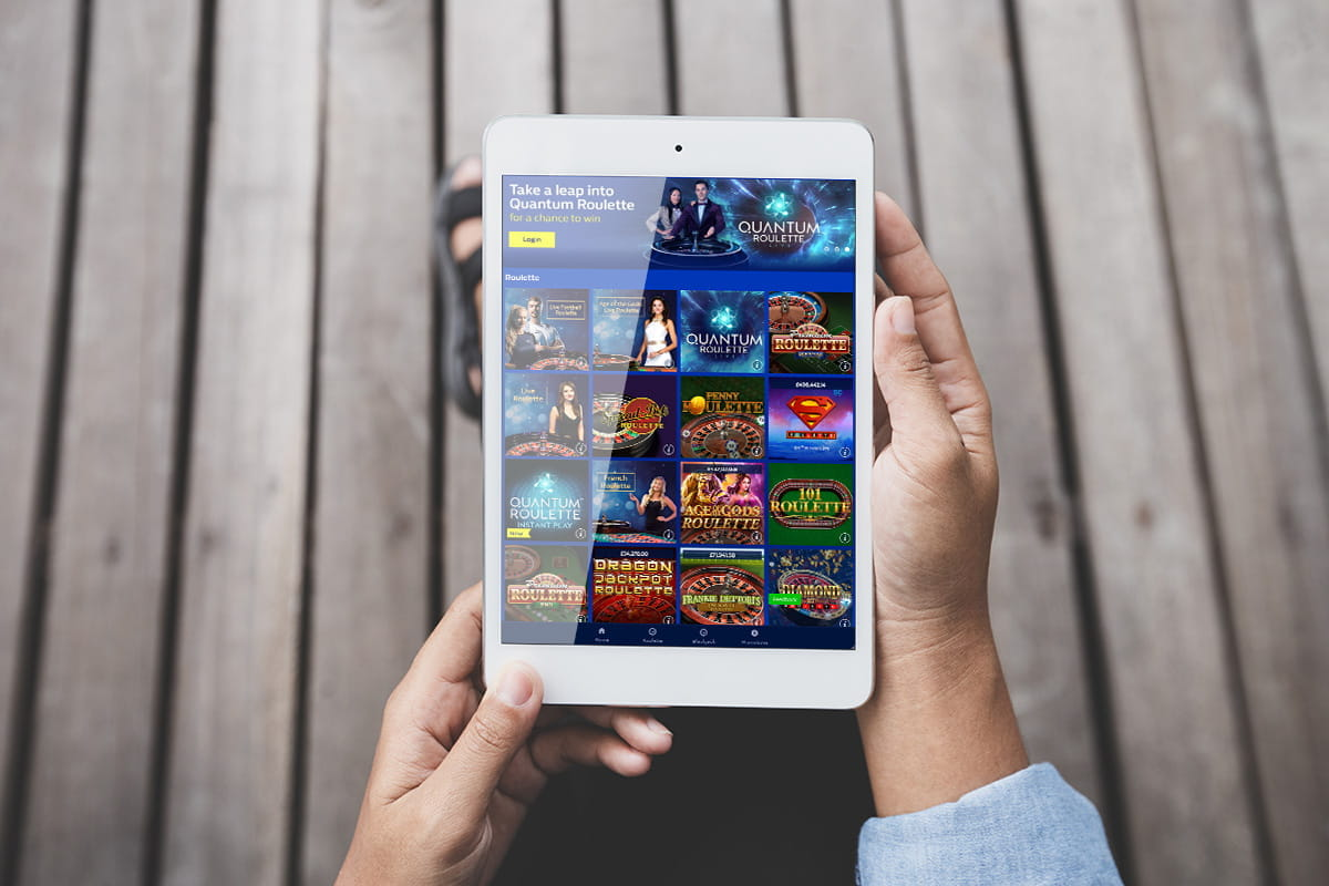 Casino App Tablet