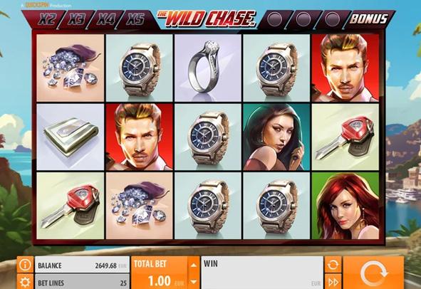 Der The Wild Chase Slot als Demo.