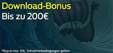 Download Bonus bis zu 200€ im William Hill Casino