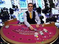 Downtown Blackjack von Evolution Gaming bei William Hill