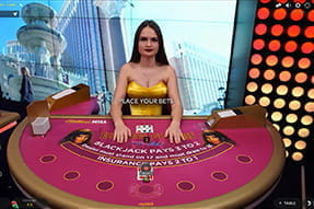 Goddess Blackjack im William Hill Live Casino