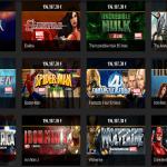 Auswahl von Playtechs Marvel Slots