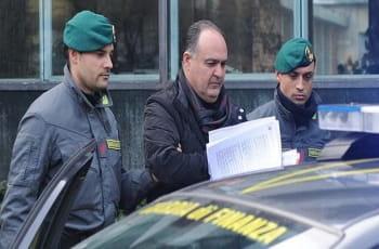 Nicola Femia bei seiner Verhaftung