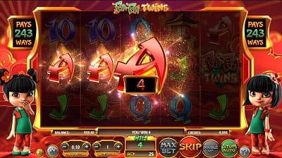 FaFa Twins Slot von Betsoft in Aktion