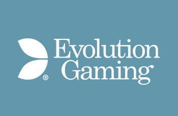 Das Logo von Evolution Gaming - Marktführer unter den Live-Casino-Providern
