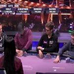 Der Finaltisch in Las Vegas