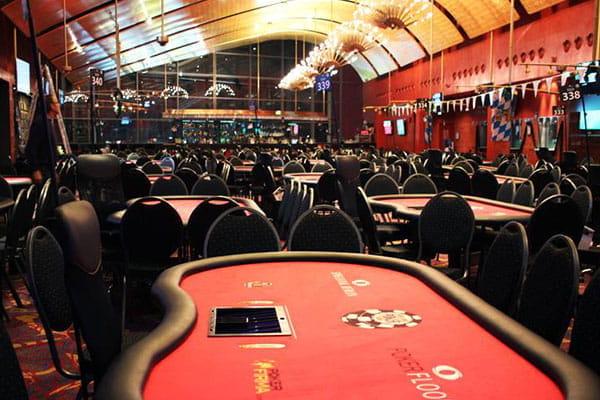 Spielbank Berlin Poker Flyer