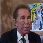 Steve Wynn während eines Fernsehinterviews