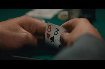 Schlechte Pokerhand
