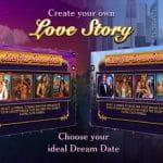 Startbildschirm des DreamDate Slots