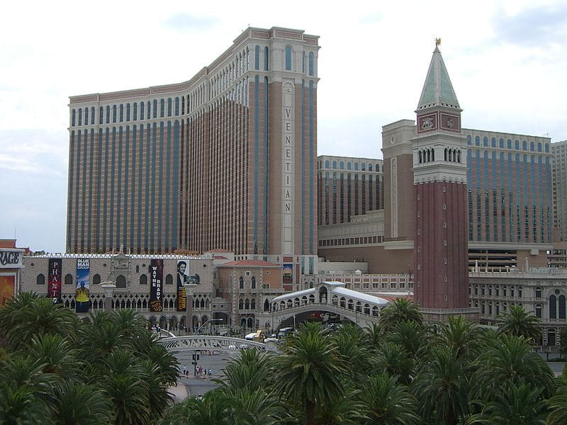 Das Venetian Resort in Las Vegas