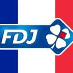 Das Logo der französischen Staatslotterie FDJ – Francaise des jeux