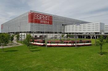 Die bisherige Esprit Arena in Düsseldorf