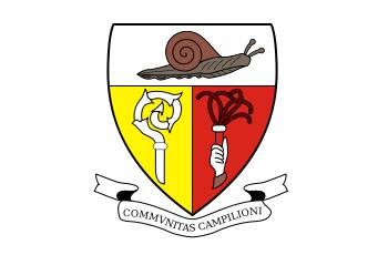 Das Wappen der italienischen Exklave Campione d'Italia.
