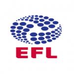 Das Logo der English Football League, EFL
