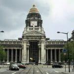 Der Justizpalast in Brüssel, Belgien