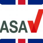 Das Logo der britischen Werbeaufsichtsbehörde, ASA.