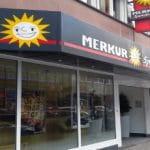 Eine Merkur-Spielhalle in Mannheim