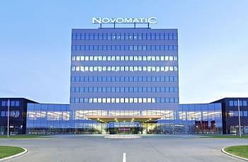 Die Zentrale der Novomatic AG in Gumpoldskirchen, Österreich.