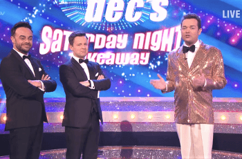 Ein Screenshot vom Youtube-Channel der britischen TV-Show Saturday Night Takeaway.