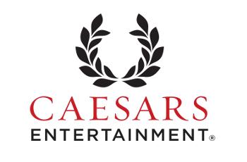 Das Logo des US-amerikanischen Hotel- und Casinokonzerns Caesars Entertainment.
