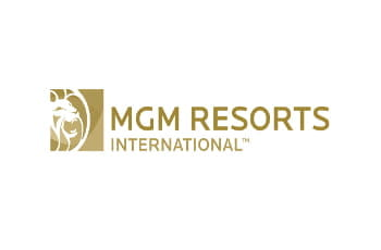 Das Logo des Weltkonzerns MGM Resorts International.