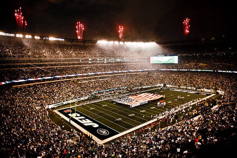 as MetLife-Stadion der NFL-Klubs New York Jets und -Giants.