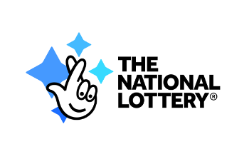 Das Logo der britischen National Lottery.