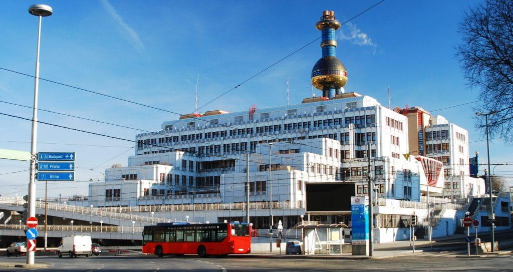 Das Gebäudes des Bundeskriminalamts in Wien.