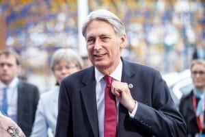 Ein Foto des britischen Politikers Philip Hammond.