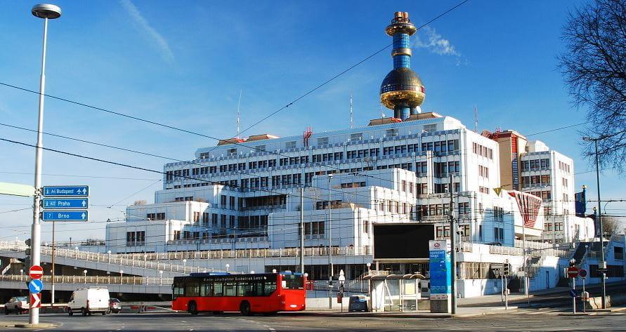 Das Gebäude des Bundeskriminalamts in Wien.