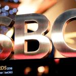 Das Bild zeigt die Trophäe des SBC Awards.