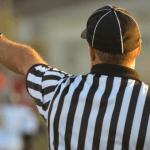 Das Bild zeigt einen Schiedsrichter.