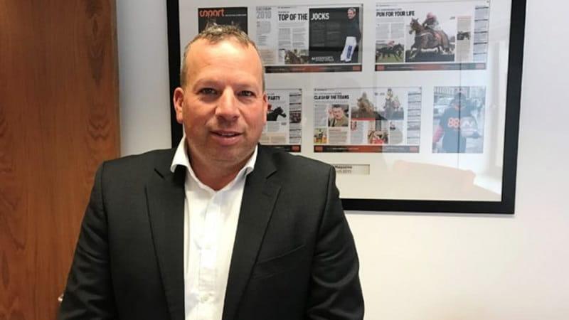 Ein Pressefoto des scheidenden 888-CEOs Itai Frieberger.