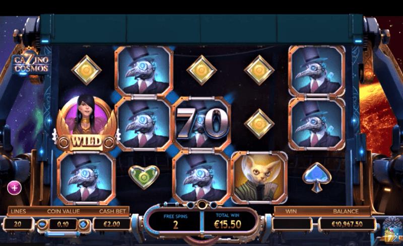 Der neue Yggdrasil-Slot Cazino Cosmos.