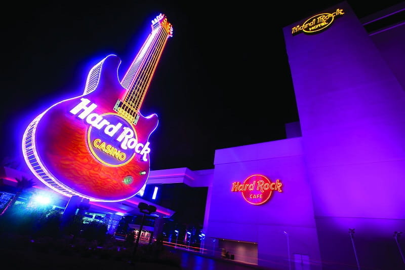 Das Hard Rock Hotel & Casino in Las Vegas.