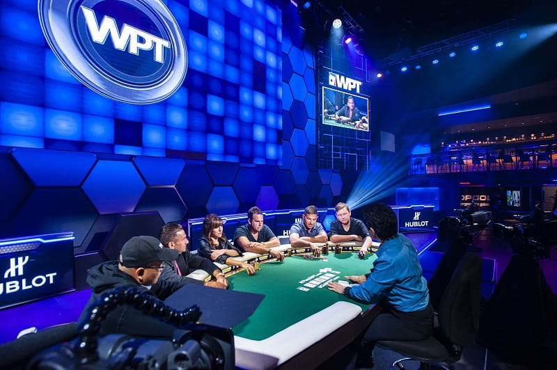 Ein Final Table der World Poker Tour 2017-2018.