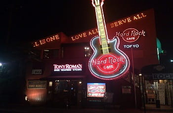 Das Hard Rock Café in Tokio, Japan.