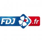 Das Logo der französischen La Française des Jeux (FDJ).