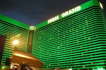 Das MGM Grand Hotel & Casino in Las Vegas.