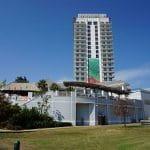 Ein Panorama des Margaritaville Resort Casinos in Bossier City, Louisiana, USA.