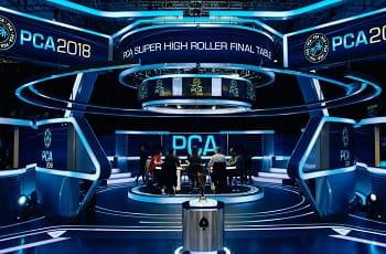 Ein Einblick auf den PCA-Final Table von 2018.