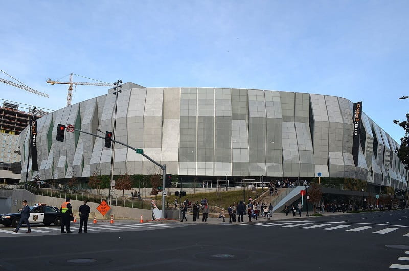 Das Golden 1 Center der Sacramento Kings.